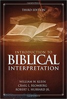 Introduction to Biblical Interpretation, 3d Ed. (HB)