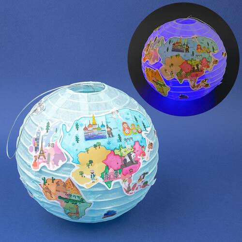 반짝반짝 지구본 조명등(5개이상주문가능)