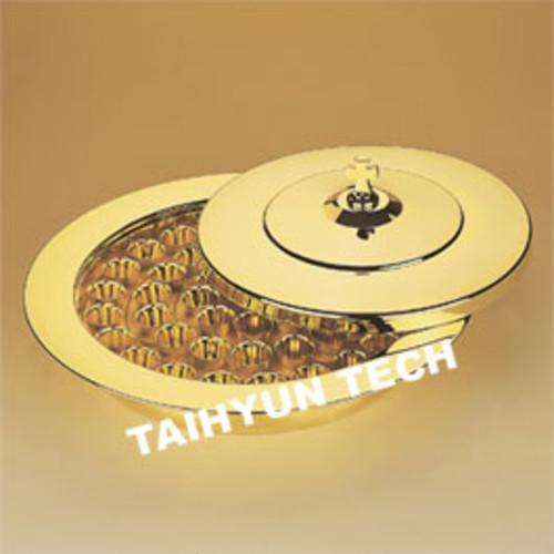 금 성찬기 THGAL-45 (밑판 뚜껑 알루미늄컵 세트)
