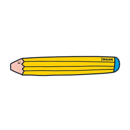 책갈피 페이퍼볼펜 08.pencil - Shalom