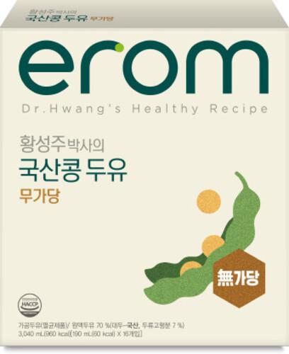 황성주 국산콩 무가당두유 190ml (32입)