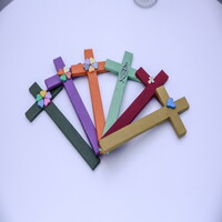 한지 수공예 묵상 십자가