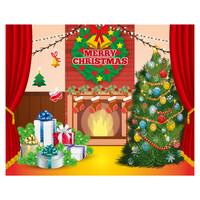 대형 배경 현수막 - 크리스마스 1514