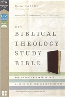 NIV: Biblical Theology Study Bible, Comfort Print (Bonded Leather, Burgundy) (Previously published as NIV Zondervan Study Bible)