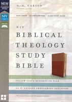 NIV: Biblical Theology Study Bible, Comfort Print (Bonded Leather, Tan/Brown) (Previously published as NIV Zondervan Study Bible)