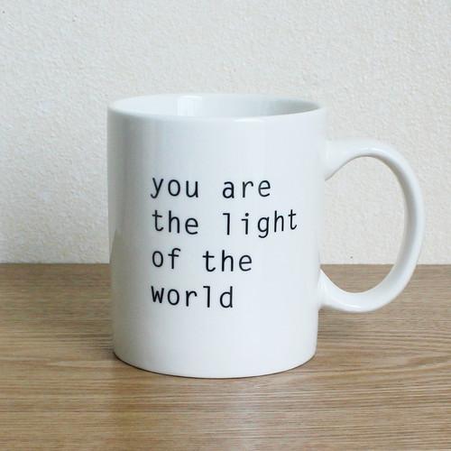 you are the light of the world (너희는 세상의 빛이라)-중국산컵에 국내프린팅