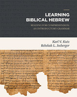 Learning Biblical Hebrew: Reading for Comprehension: An Introductory Grammar (PB)