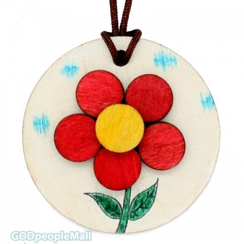 new나무목걸이만들기-꽃