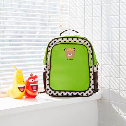 [출시특가]어린이집 가방 유아 유치부 가방 -JD베어B_3392(연두색)