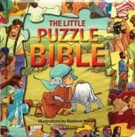 The Little Puzzle Bible (Series: Bible Puzzle Books) (HB)