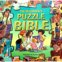 The Beginners Puzzle Bible(Series: Bible Puzzle Books) (HB)