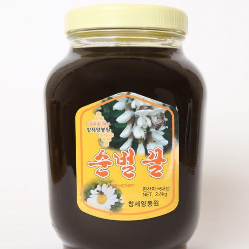 성도교회 장성범 집사의 밤꿀 (2.4kg)