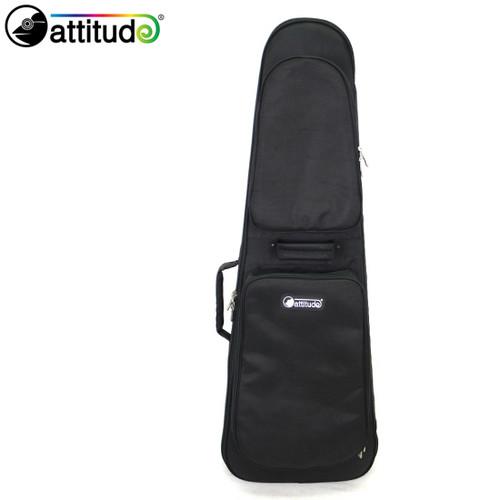 [Attitude] 베이스기타 세미 하드케이스 BG-30XL (Black)