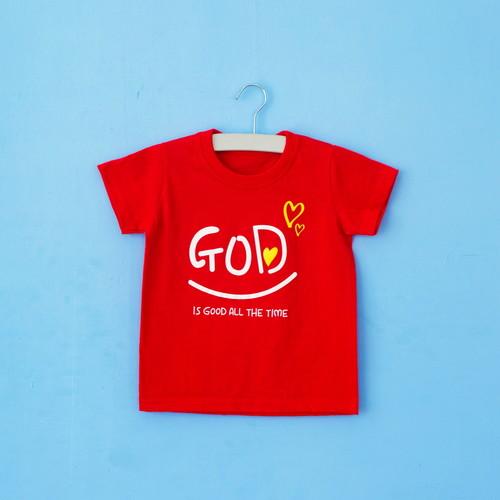 글로리월드 티셔츠 - GOD(레드)