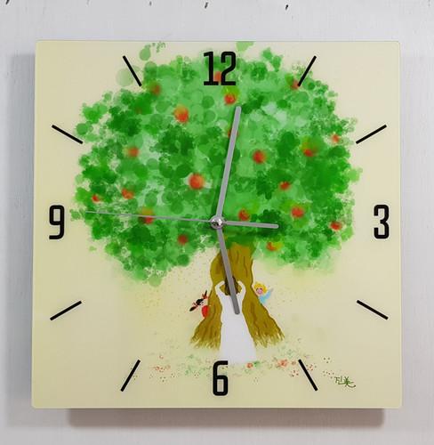 갤러리봄 사각시계