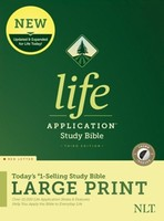 NLT: Life Application Study Bible, 3d Ed. Large Print (Red Letter, 양장본, Indexed)
