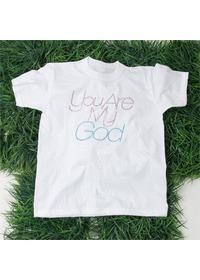 핫픽스 큐빅 티셔츠 YOU ARE MY GOD(LC9068S)-아동용