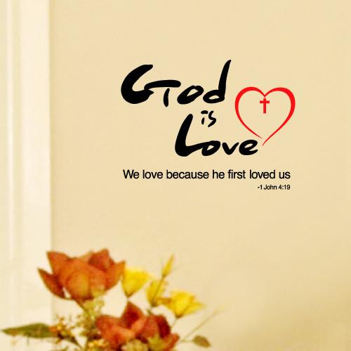 [말씀스티커]God is Love (갓 이즈 러브)