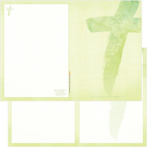 십자가주보 A4(4면/양면) A4105