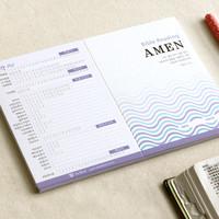 성경읽기표- Amen (25장)