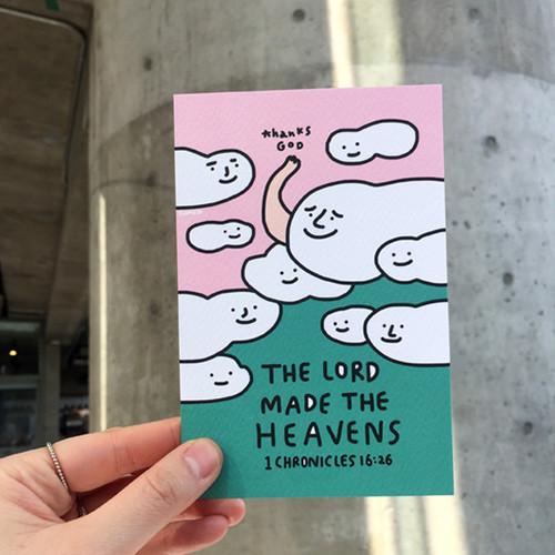 굿뉴스드로잉 엽서 03.Heavens