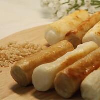 하늘생명교회 아산풍성한영농조합의 구워먹는 백미, 현미 가래떡 (500g X 2개)