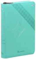 개역한글 큰글자 성경전서 소 단본 (색인/지퍼/이태리신소재/스카이)