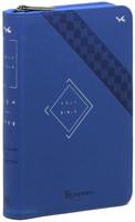 개역한글 큰글자 성경전서 소 단본 (색인/지퍼/이태리신소재/블루)