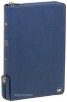 라스텔라 성경전서 중 단본(색인/이태리신소재/지퍼/네이비/H72KM)