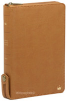 라스텔라 성경전서 중 단본(색인/이태리신소재/지퍼/카멜브라운/H72KM)
