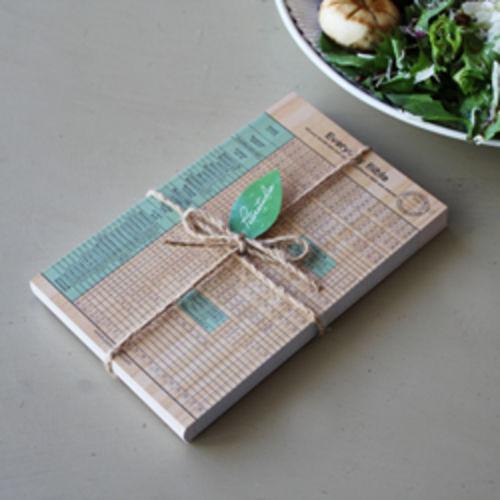 피터카페 성경읽기표 - Natural Wood (40장)