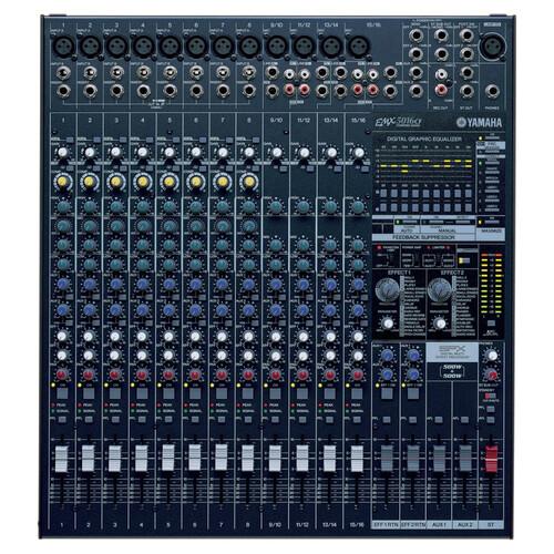 야마하 EMX5016CF 파워드 믹서