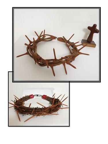 가시면류관 만들기(부활절,성탄절 외 행사소품, 장식용)