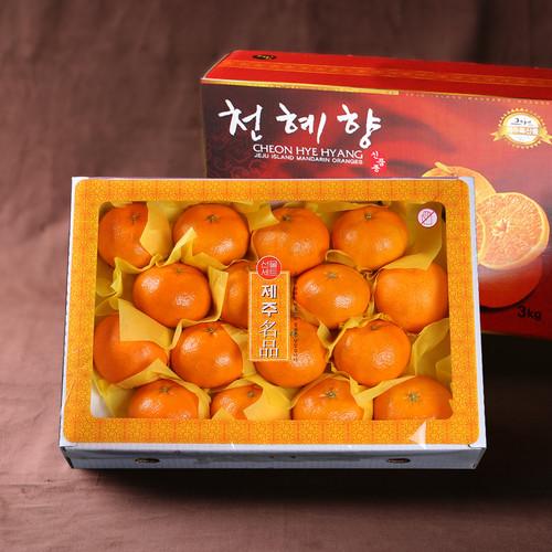 [선물세트] 제주 천혜향 3kg(13~17과)