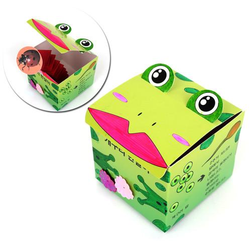 [만들기패키지] 개구리한살이 큐브 (5개이상구매가능)