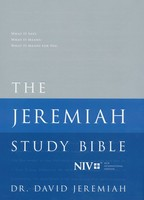 NIV: Jeremiah Study Bible Jacketed Hardcover