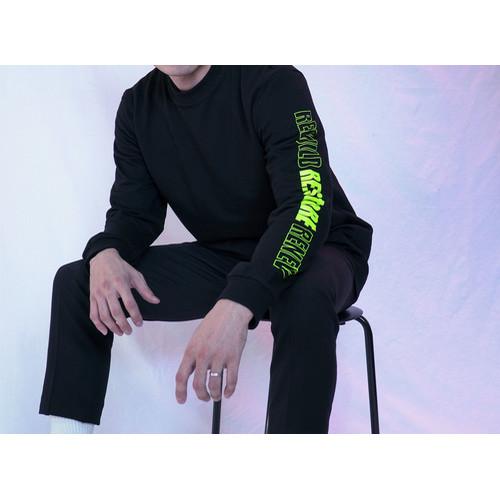 RE:stoRE neon side longsleeve (black)