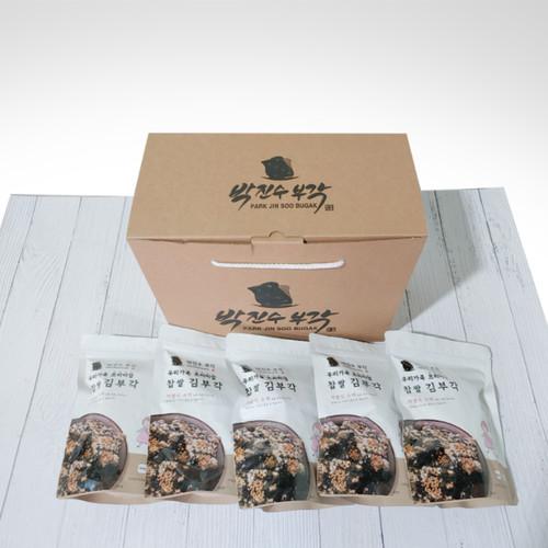 [박진수 부각] 김부각45g 5팩/다시마 부각 40g5팩 선물세트