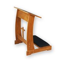 세례용 원목 무릎의자, 기도대
