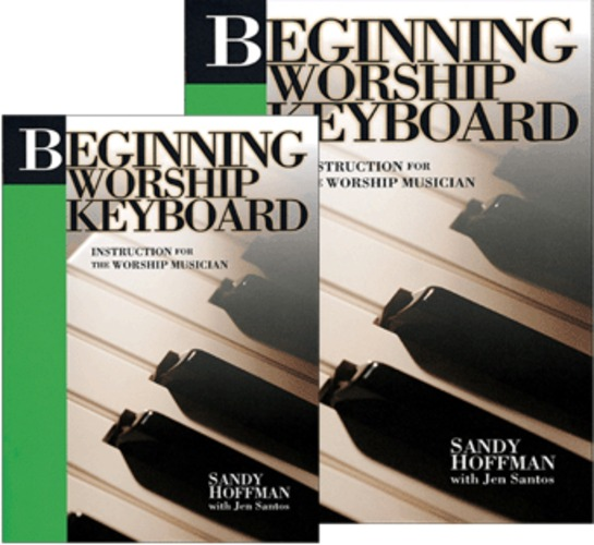 Biginning Worship Keyboard (DVD 키보드교본 SET)