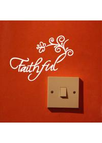 미니레터링-Faithful(신실한)