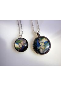 목걸이 - 세계여행 시리즈(Earth) / Big size
