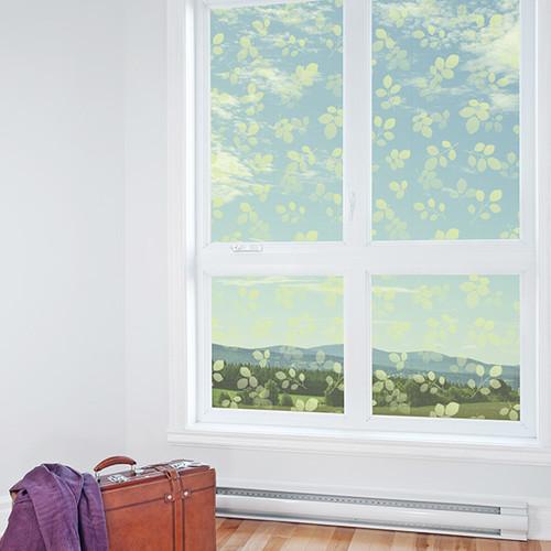 [창문용 시트지] HPG-31850 아침햇살 그린