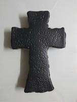 (벽걸이용) 도자기 기본형1 십자가 - 5색(블랙/화이트/딥블루/그린/코발트)