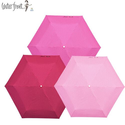 워터프론트 초경량 3단 쿠키 우산