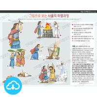 성경 인포그래픽 44 그림으로 보는 사울의 파멸과정 by 규장굿즈 / 이메일발송(파일)
