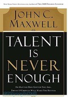 Talent Is Never Enough (PB)