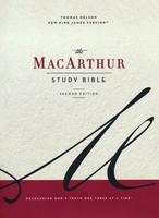 NKJV: MacArthur Study Bible, 2nd Edition, Cloth over Board, Blue, Comfort Print