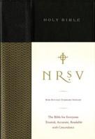NRSV: Standard Bible (Black, HB)