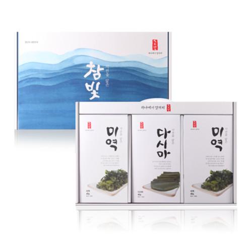 참빛 자담 2호(미역, 다시마 세트)